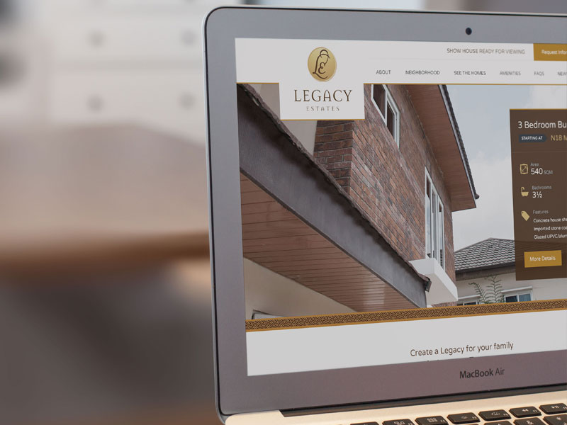 Featured Project - Legacy Estates